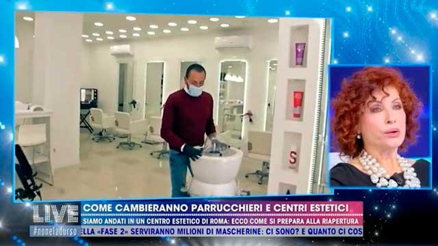 Gli sterilizzatori ReBrush by Hairbc nel servizio di Barbara D'Urso